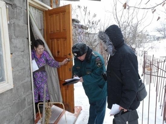 В доме димитровградской пенсионерки устранили протечку газа