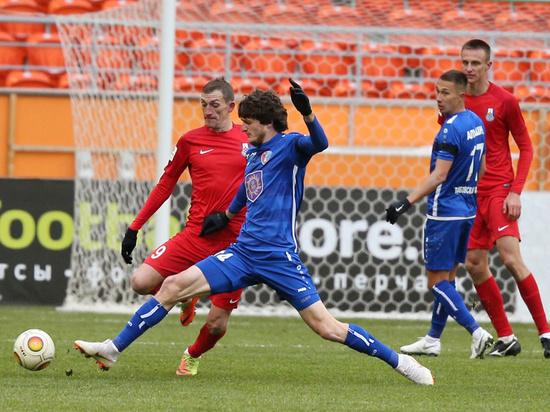 ФК «Мордовия» потерпел поражение от «Тамбова»