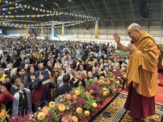 Объявлена регистрация калмыцких паломников на учения к Далай-ламе