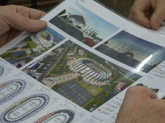 Стадион в Магасе построят в виде солнца