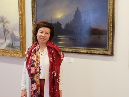 Смоленскую Художественную галерею посетила правнучка Куинджи