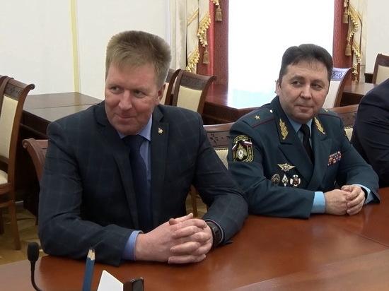 Техника пожарных в Мордовии впечатлила замминистра МЧС РФ