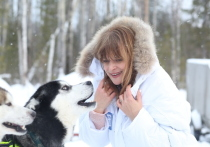 Актриса Настасья Кински продолжает ознакомление с городом Ханты-Мансийском и окрестностями