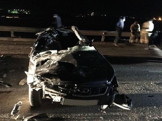 В Калмыкии погибло два водителя
