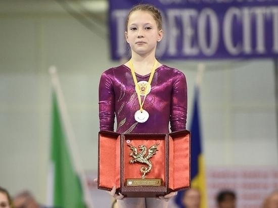 Донская спортсменка стала лучшей на соревнованиях по спортивной гимнастике в Италии