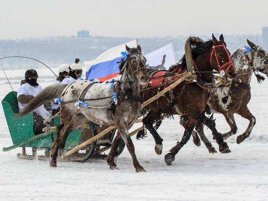 В забеге русских троек победила команда из Бурятии