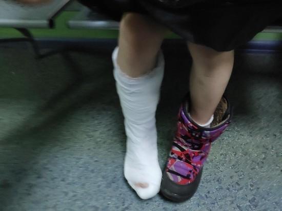 Девочка сломала ногу в смоленском батутном центре