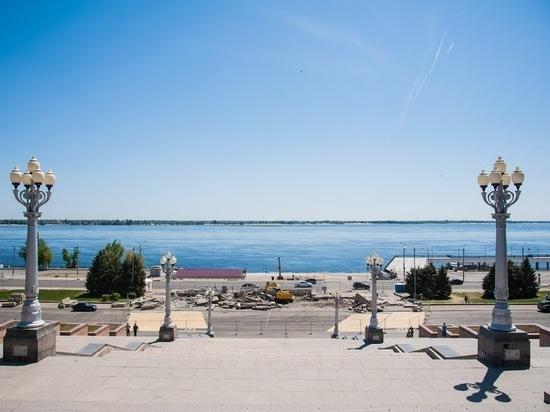 Набережная Волгограда станет удобнее для спорта и прогулок
