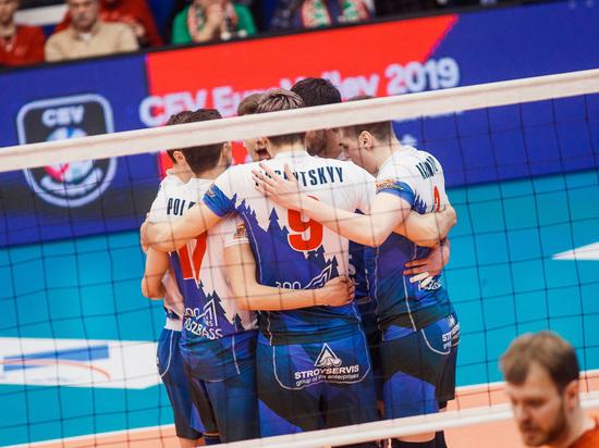 Волейбольный клуб «Кузбасс» не вышел в финал Кубка ЕКВ