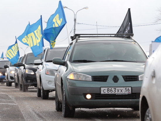 Оренбургские таксисты продолжают бунтовать