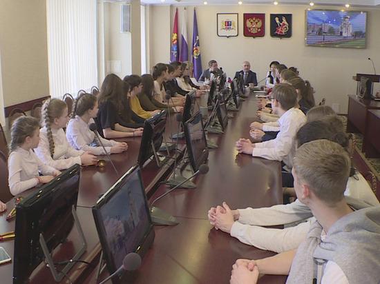 Школьники из Германии приехали в гости в Иваново