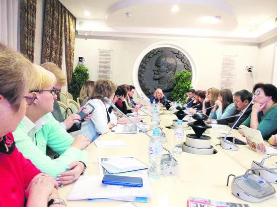 Представители тюменского отделения Национальной родительской ассоциации побывалина съезде организации