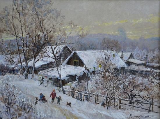 В Ульяновске состоится юбилейная выставка Рубена Сафронова