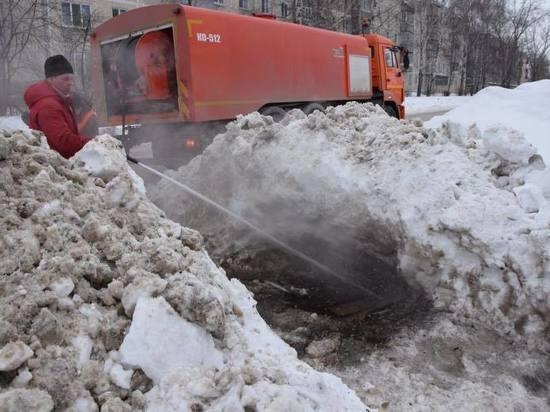 До конца марта прочистят все ливневки в Ульяновске