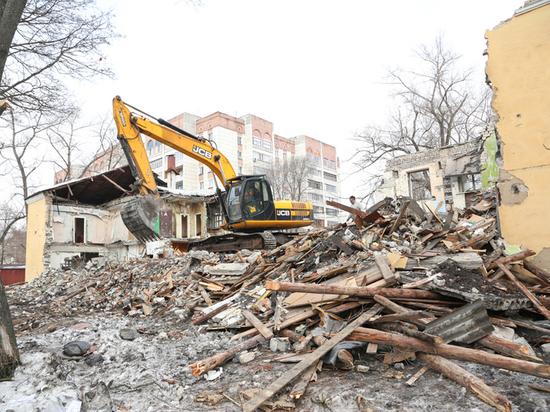 В Воронеже застроят «депрессивные» территории