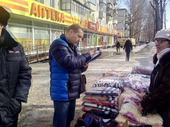 В Ульяновске ликвидировали несанкционированных 28 торговых точек