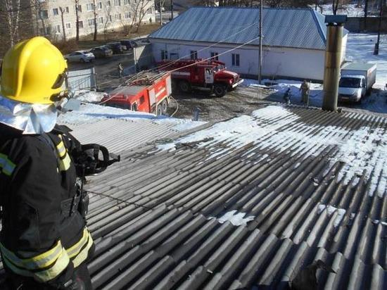 Хлебопекарный цех сгорел в Кирове