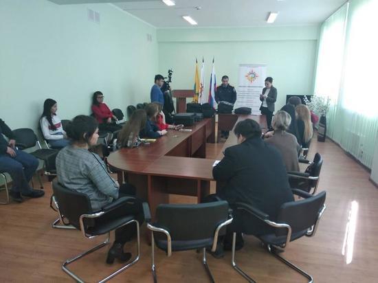 Следователи побывали на Дне открытых дверей в Калмыцком университете