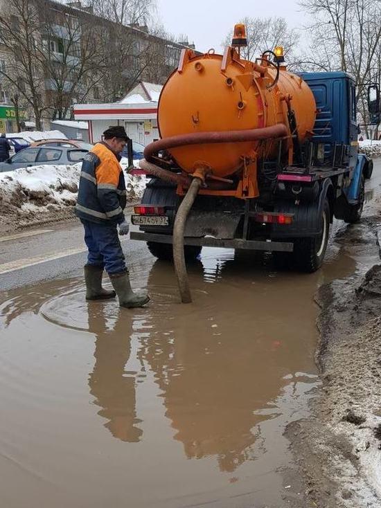 Весна принесла в Иваново проблемы для коммунальных служб