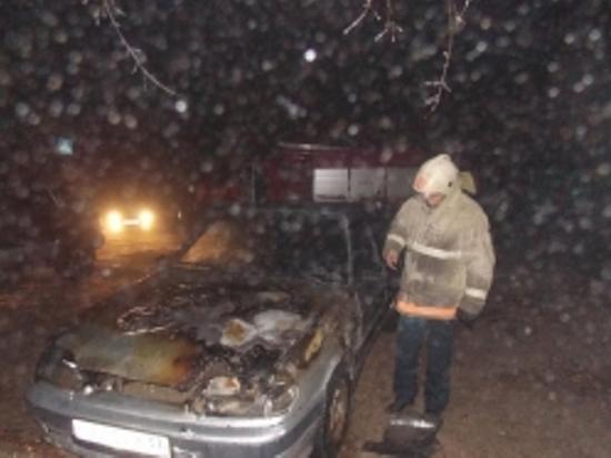 6 марта в Юрьевце и Юже горели автомобили