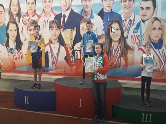 Юный калмыцкий легкоатлет взял серебро первенства России