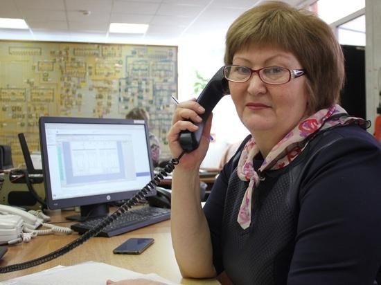 Диспетчер Калугаэнерго Елена Дорожкина награждена Почетной грамотой калужского Губернатора