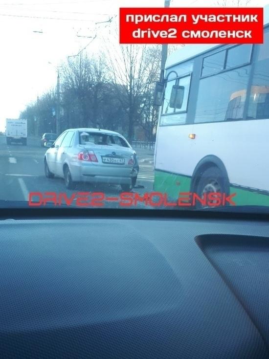 В Смоленске пассажирский автобус