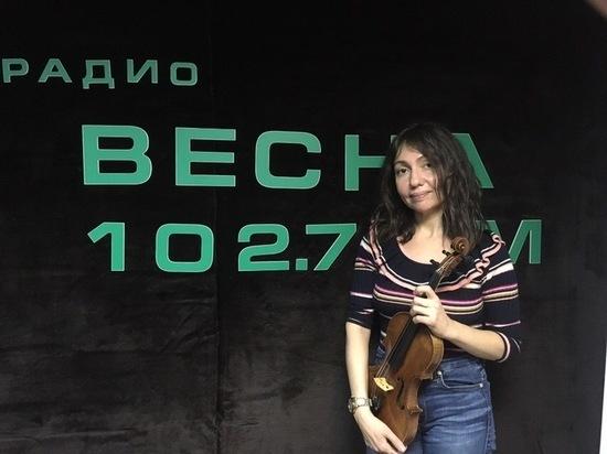 В Смоленске выступила солист «Виртуозов Москвы» Рипсиме Айрапетянц