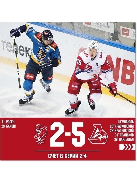 «Локомотив» прошел в 1/4 финала плей-офф КХЛ