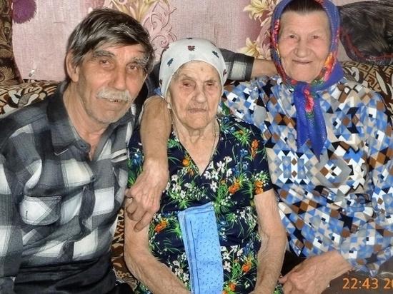108-летняя старушка из Волгоградской области родила троих детей
