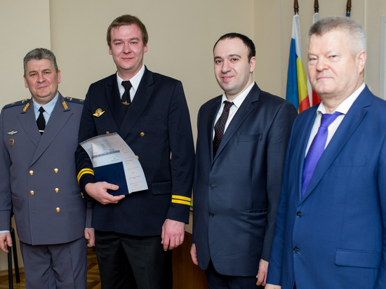 В Ростове в филиале МГТУ ГА выпускникам вручили дипломы