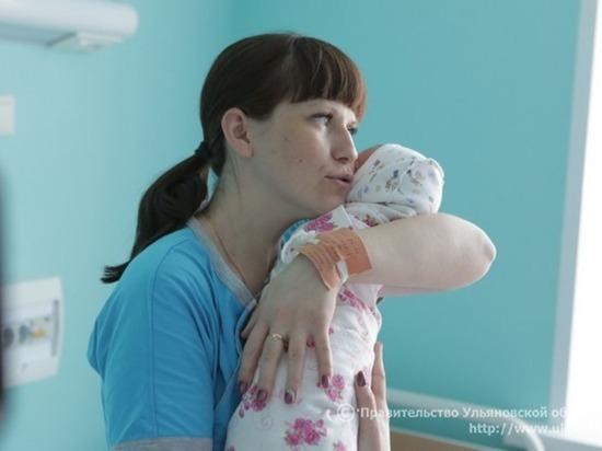 В Ульяновской области 8 марта родилось 12 детей
