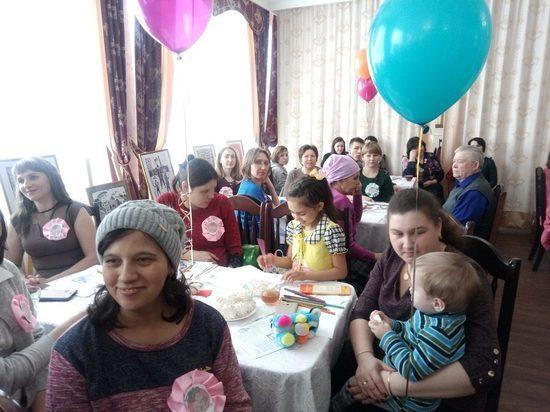 В Карсунском районе состоялся фестиваль беременных женщин