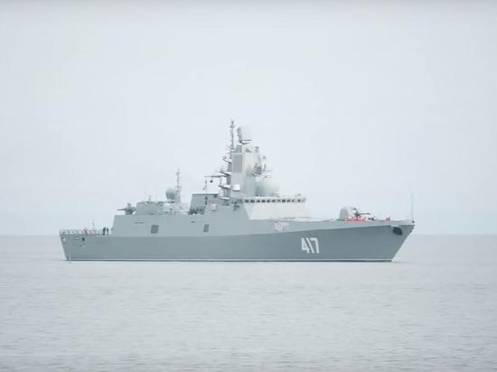 Западные СМИ написали о вызывающем тошноту и галлюцинации оружии фрегата «Адмирал Горшков»