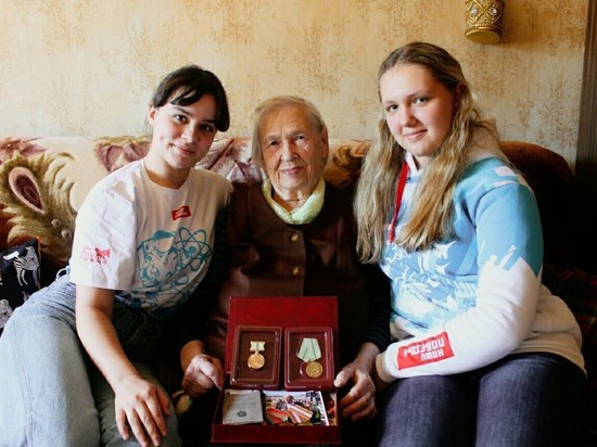 Калужанки-ветераны рассказали молодежи о войне