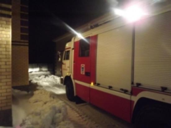 Торговые павильоны загорелись в Засвияжском районе Ульяновска