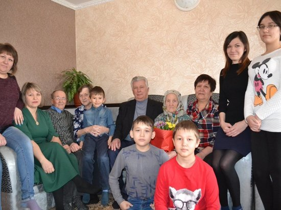 Жительница калмыцкого села Садовое отметила 90 лет