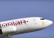 Три россиянина находились на борту Boeing, который направлялся из Эфиопии в Кению