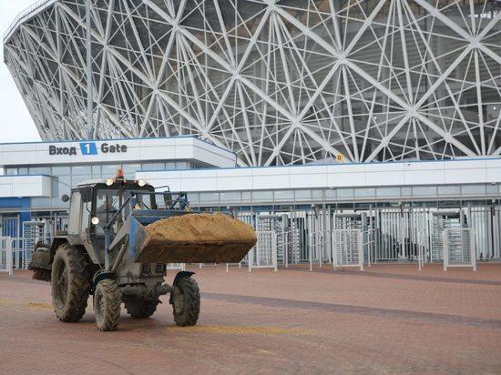 «Волгоград Арена» готовится к новому футбольному сезону