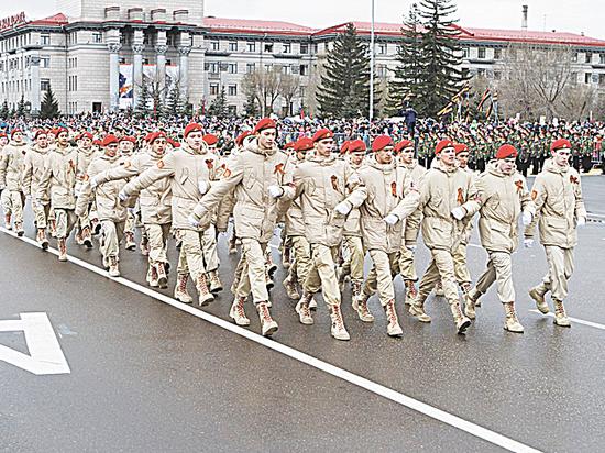 Стойкие сибирские солдатики
