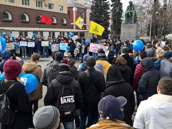 Митинг за свободный интернет прошел в Воронеже
