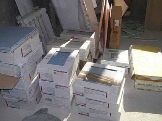 В Ульяновске задержали похитителя 10 коробок керамической плитки