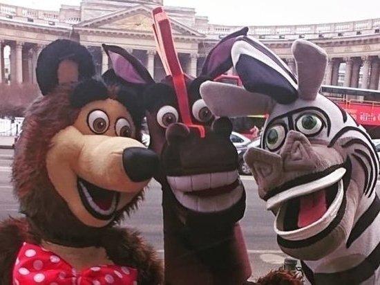Петербург терроризируют мультяшки-вымогатели