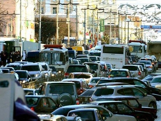 Калужская область в десятке по количеству авто