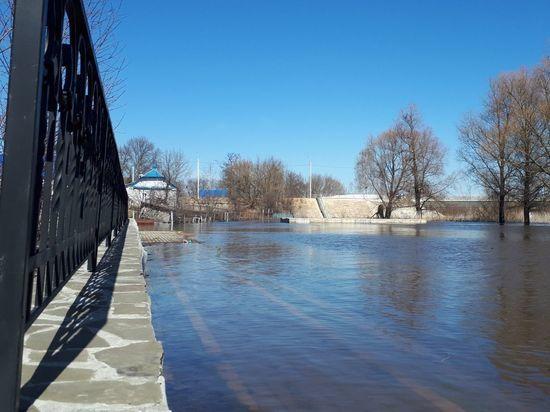 Паводок в Саранске ждут в первой декаде апреля