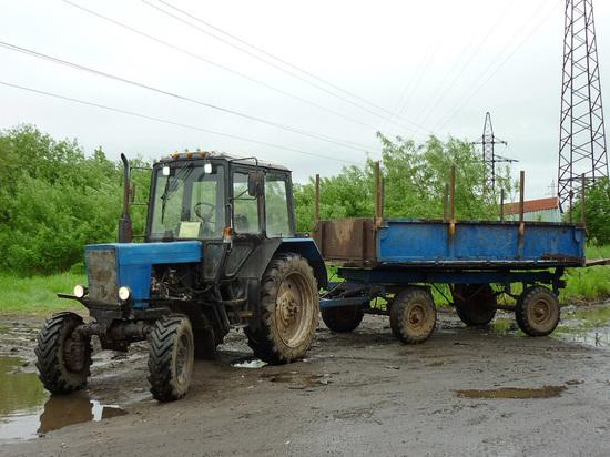 Ульяновский тракторист угробил знакомого, перевозя его в прицепе