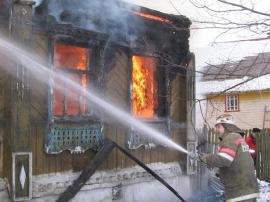 На пожаре в Сурском районе погиб 62-летний мужчина