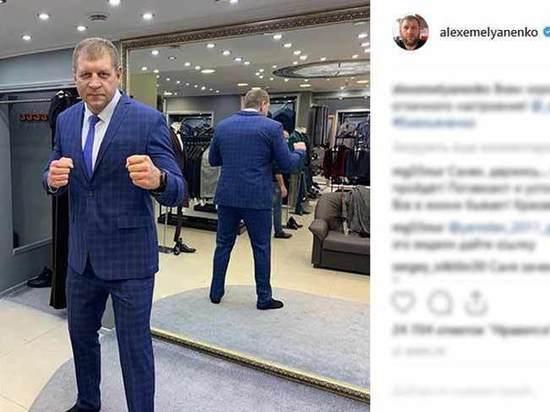 Александр Емельяненко посоветовал спрашивать про Харитонова у Бориса Моисеева