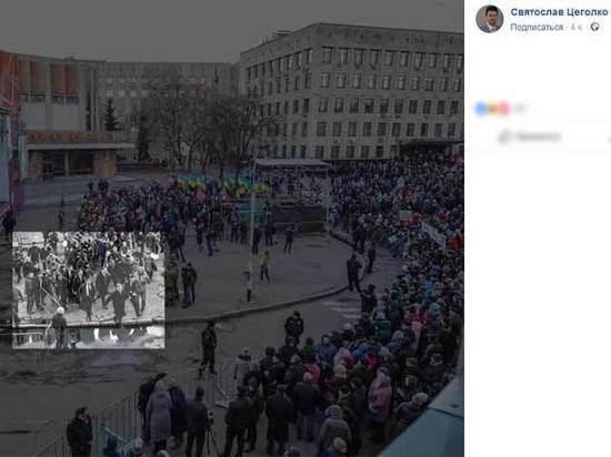 """Украинский фотограф рассказал о неверной интерпретации """"бегства"""" Порошенко российскими СМИ"""