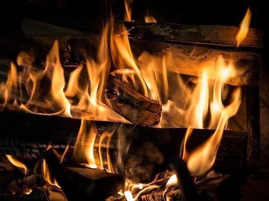 В островской деревне из-за неисправной печи сгорел жилой дом